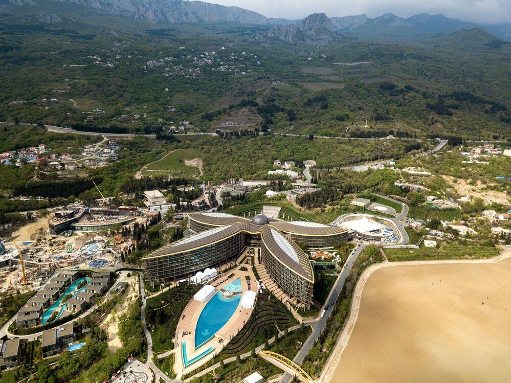 Luksusowy hotel Mriya Resort & Spa w Jałcie