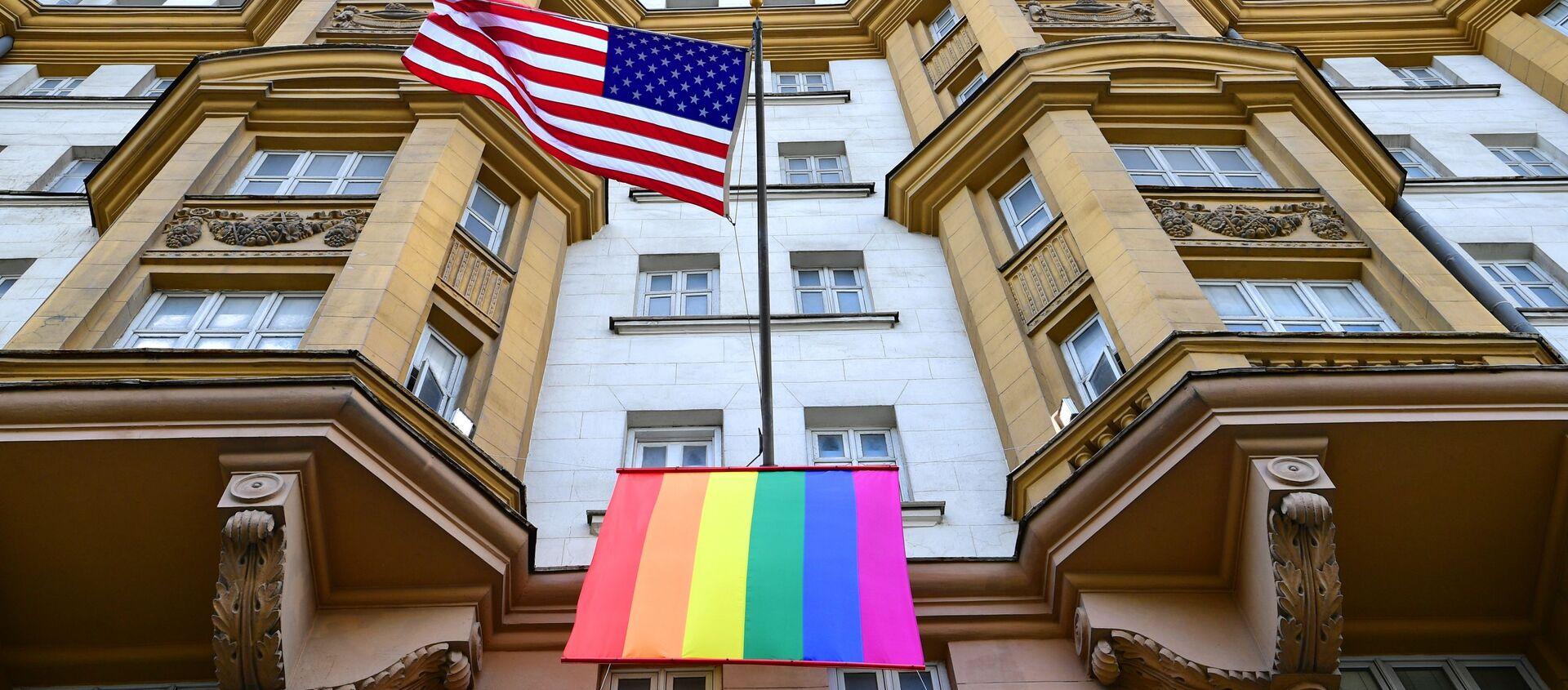 Ambasada USA w Moskwie - Sputnik Polska, 1920, 06.02.2021