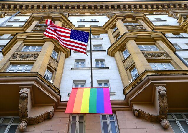 Ambasada USA w Moskwie.