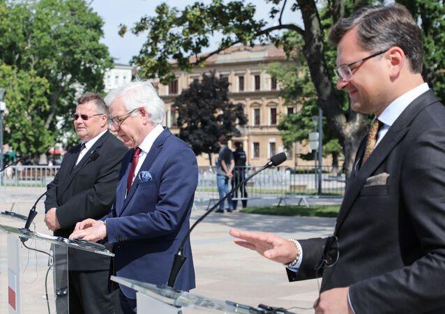 Spotkanie ministrów spraw zagranicznych Polski, Litwy i Ukrainy