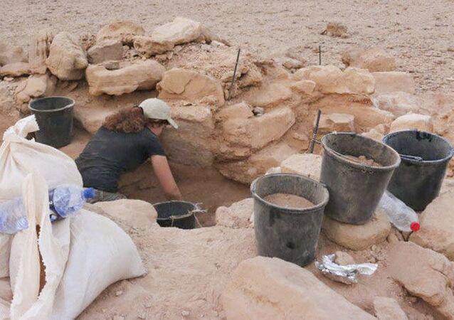 Znalezisko na południu Israela
