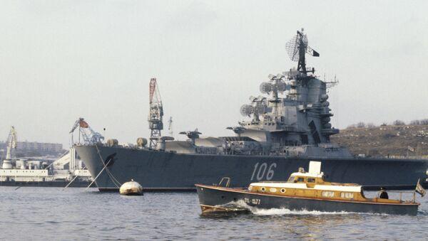 Okręty Floty Czarnomorskiej Rosyjskiej Marynarki Wojennej - Sputnik Polska