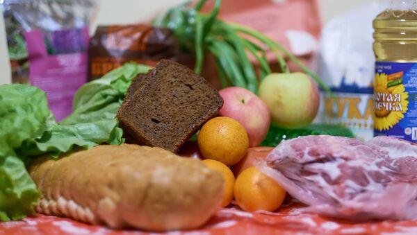 Produkty na stole - Sputnik Polska