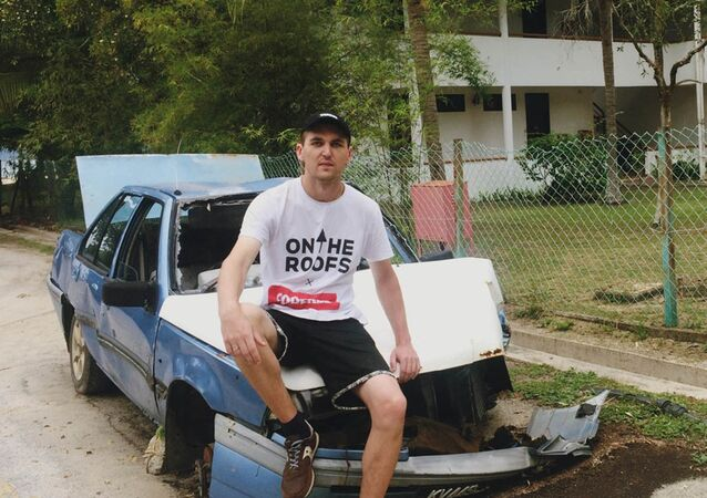 Ukraiński raper Andy Cartwright (Aleksander Juszko)
