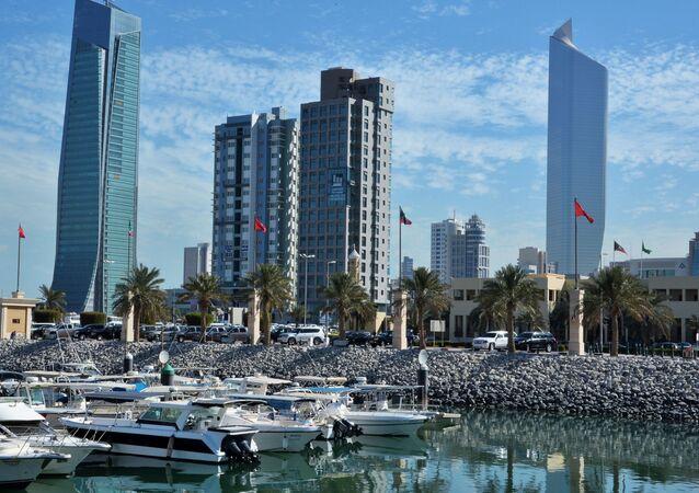 Widok na stolicę Kuwejtu