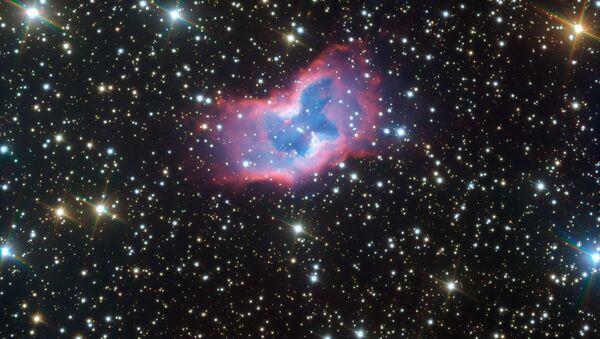 Zdjęcie mgławicy NGC 2899 przypominającej kosmicznego motyla - Sputnik Polska