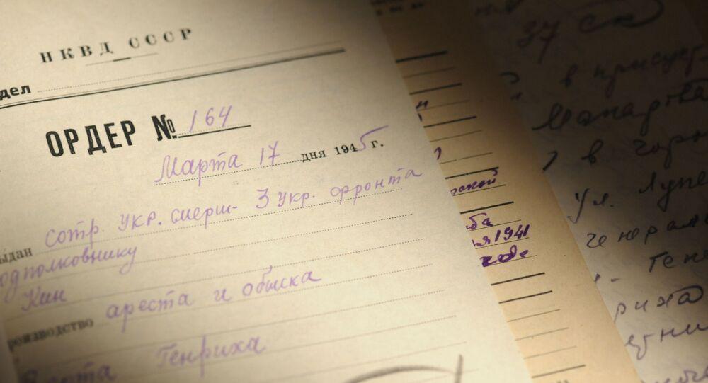 Zarchiwizowane akta postępowań z Centralnego Archiwum FSB Rosji