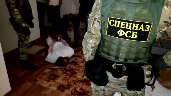 Zatrzymanie przez pracowników FSB Federacji Rosyjskiej w trakcie działań operacyjnych osób zaangażowanych w działalność zakazanej w Federacji Rosyjskiej międzynarodowej organizacji ekstremistycznej Tablighi Jamaat w obwodzie wołgogradzkim - Sputnik Polska