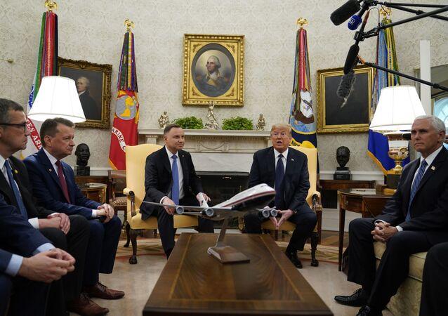 Wizyta Andrzeja Dudy do USA i spotkanie w Białym Domu z Donaldem Trumpem