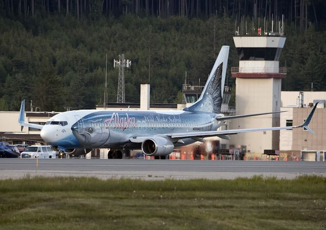 Samolot linii lotniczych Alaska Airlines