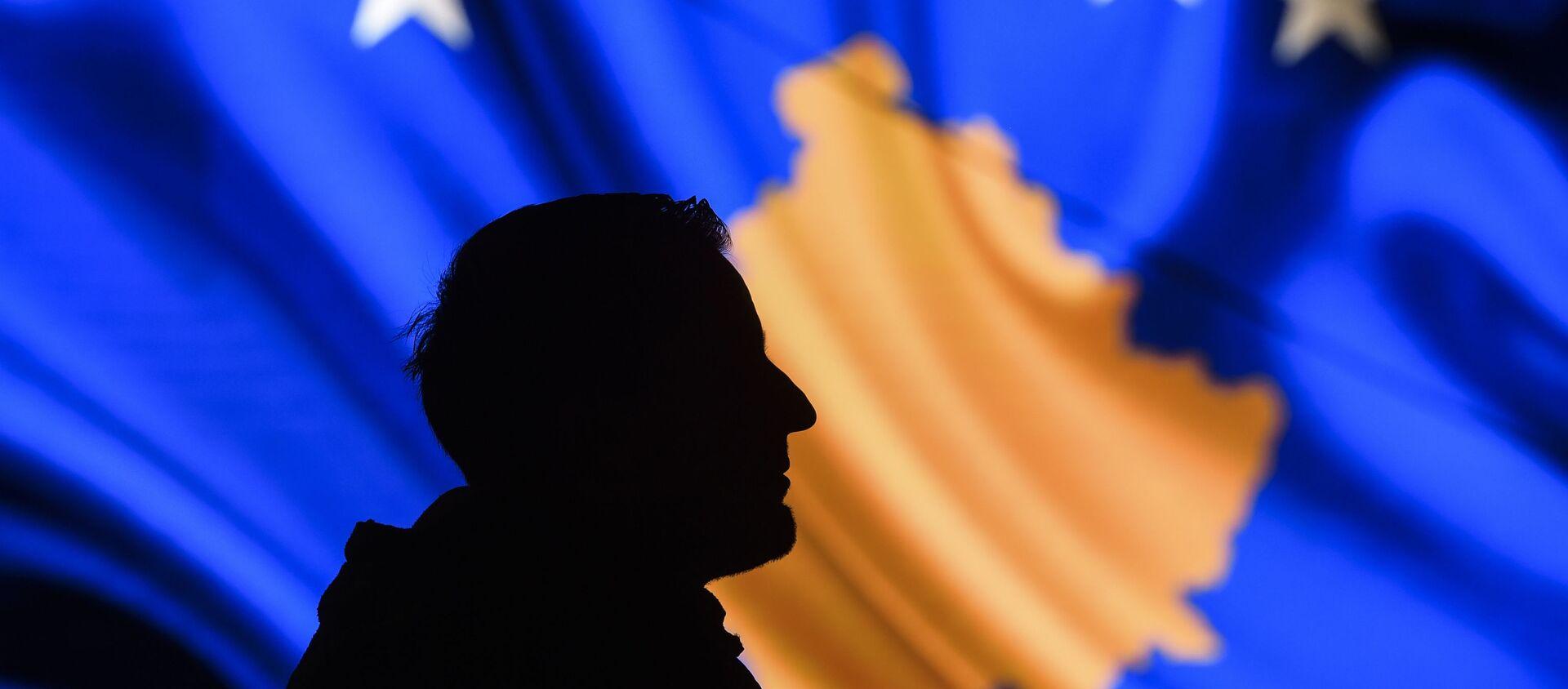 Flaga Kosowa. - Sputnik Polska, 1920, 01.08.2020