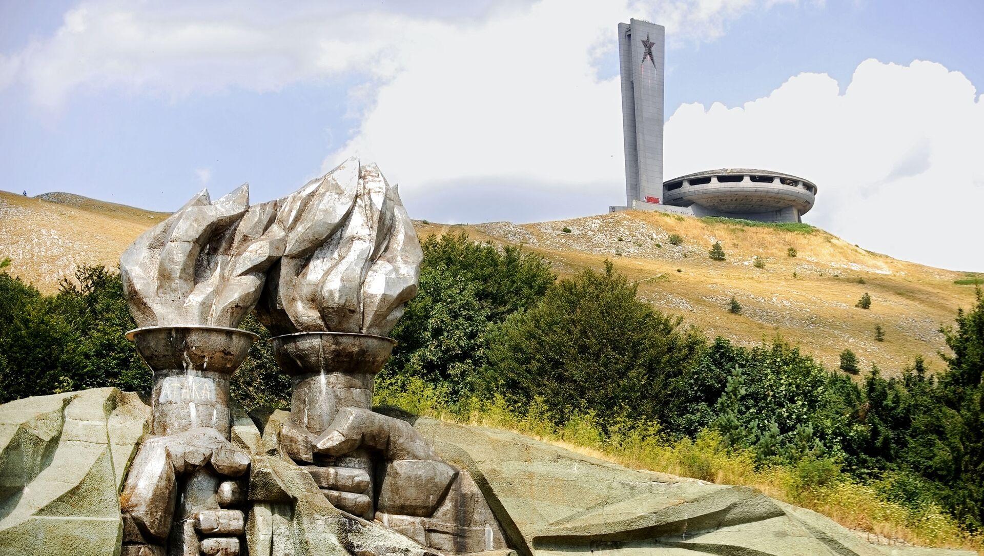 Dom-pomnik Buzludzha w Bułgarii - Sputnik Polska, 1920, 14.05.2021