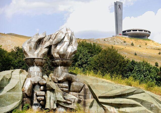 Dom-pomnik Buzludzha w Bułgarii