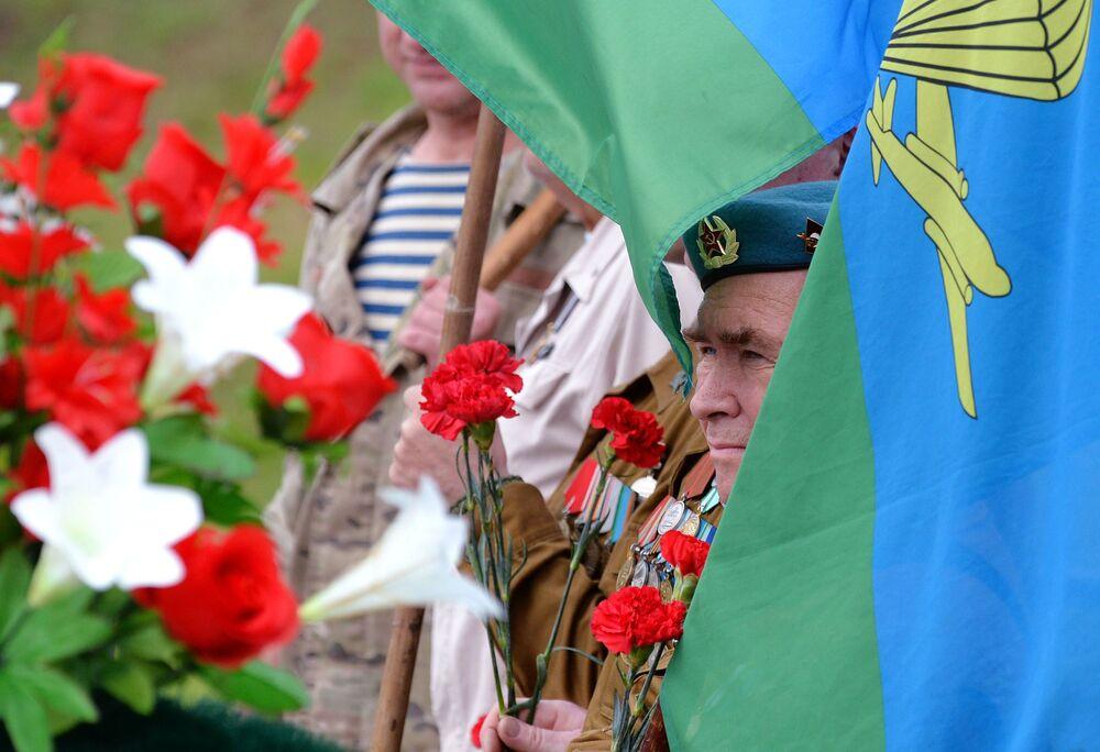 Obchody Dnia Wojsk Powietrznodesantowych w Krasnojarsku