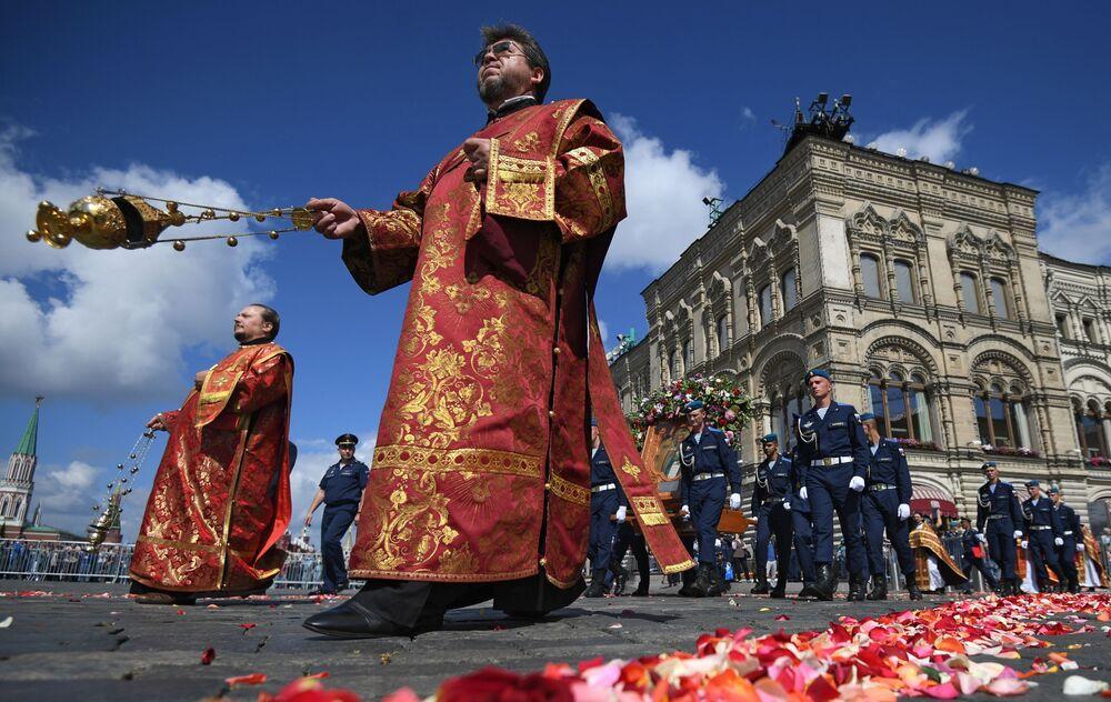 Obchody Dnia Wojsk Powietrznodesantowych w Moskwie