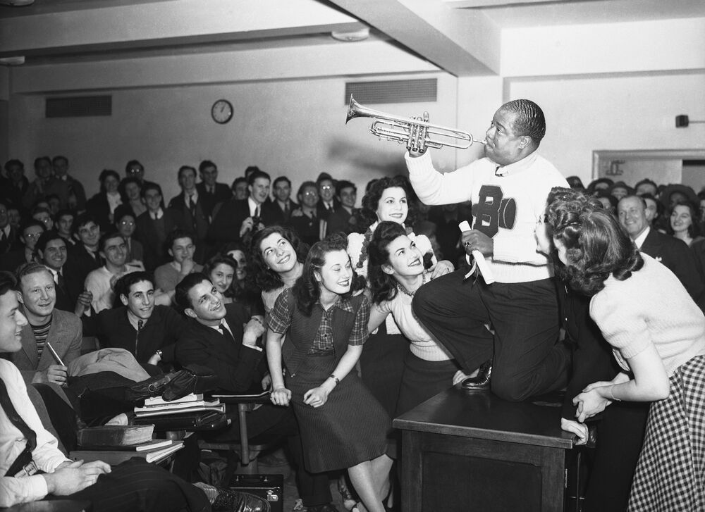 Louis Armstrong, 1941 rok, Brooklyn
