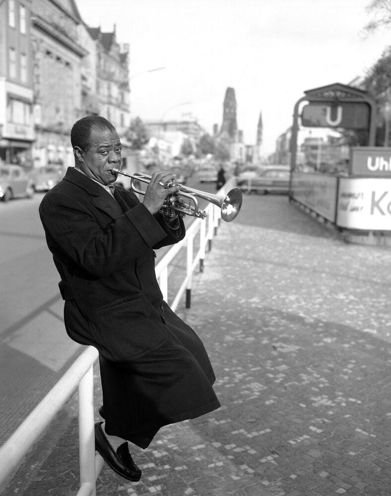 Louis Armstrong, 1955 rok