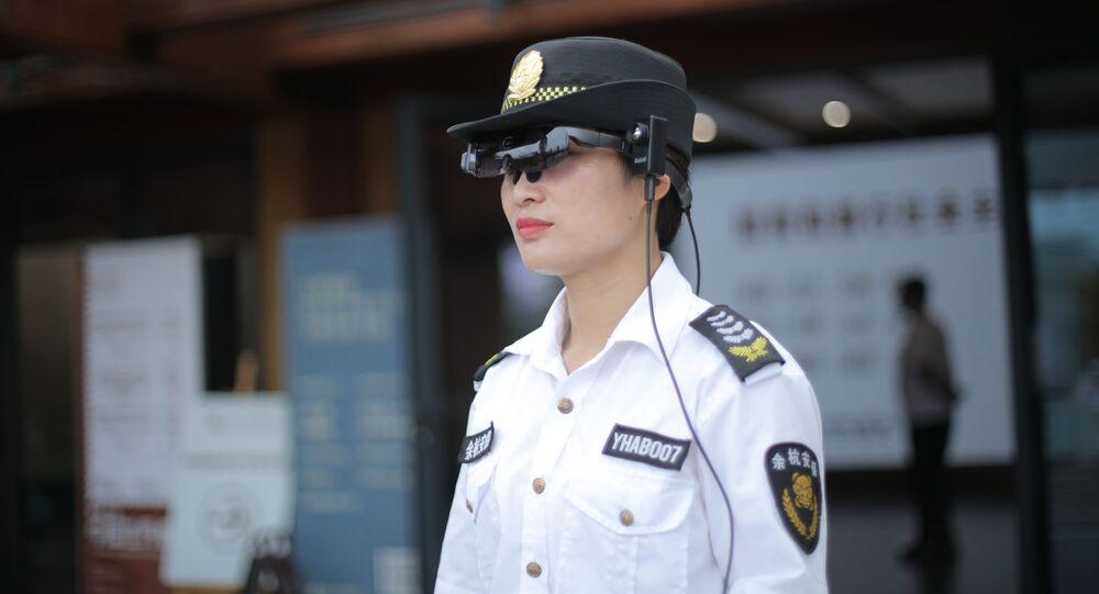 Okulary rozszerzonej rzeczywistości Rokid Glass 2 do pomiaru temperatury