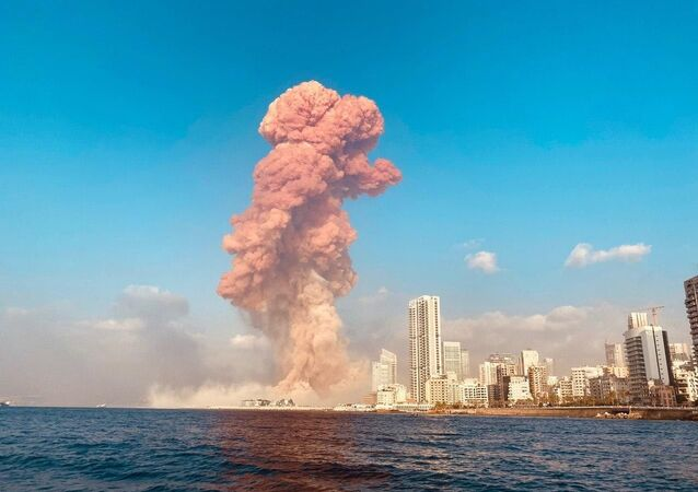 Wybuch w Bejrucie