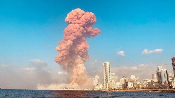 Wybuch w Bejrucie - Sputnik Polska