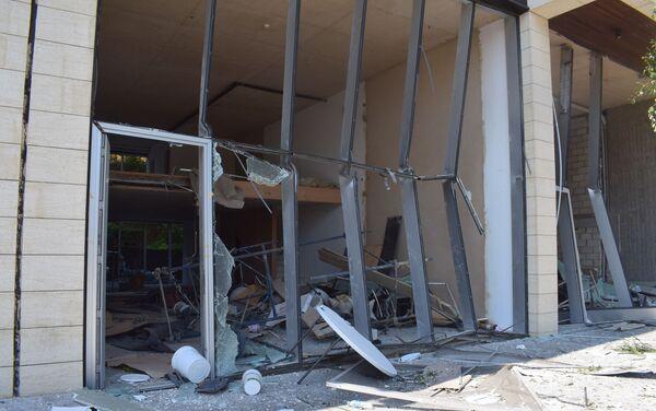 Zniszczone ulice Bejrutu w rezultacie wybuchu w porcie - Sputnik Polska