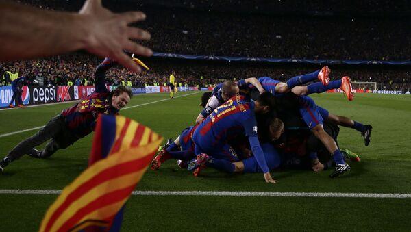 Piłkarze FC Barcelona - Sputnik Polska
