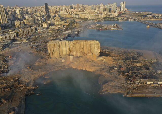 Skala zniszczeń po wybuchu w Bejrucie