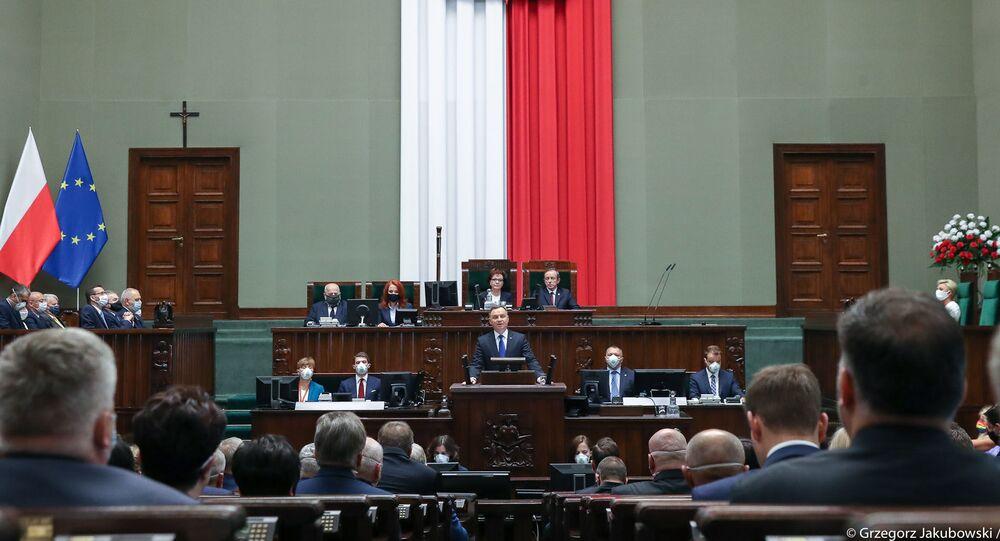 Inauguracja Andrzeja Dudy na drugą kadencję prezydencką