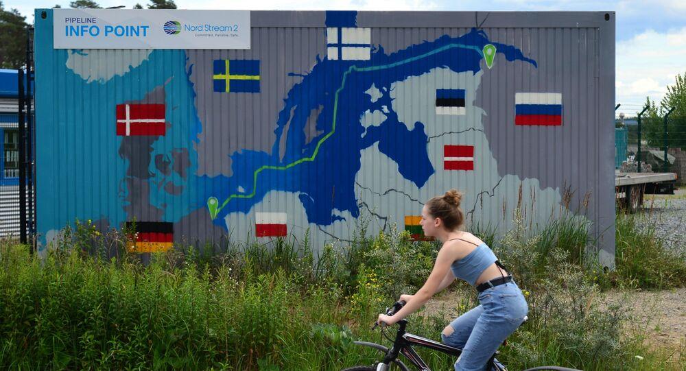 Punkt wyjścia Nord Stream 2 w Lubminie