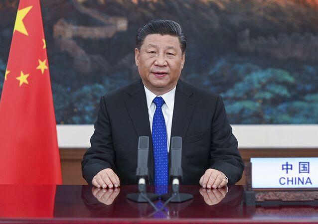 Przewodniczący ChRL Xi Jinping