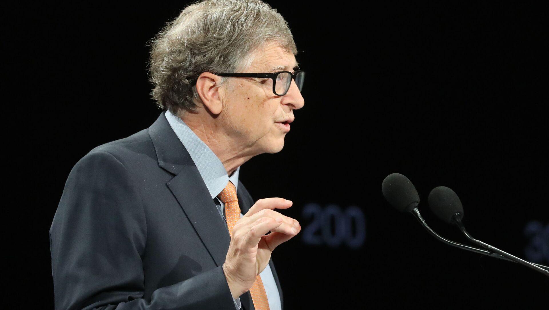 Amerykański przedsiębiorca Bill Gates - Sputnik Polska, 1920, 21.03.2021