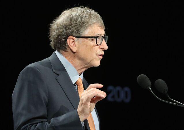 Amerykański przedsiębiorca Bill Gates