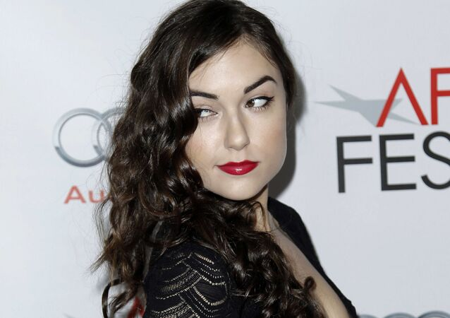 Amerykańska pornoaktorka Saha Grey