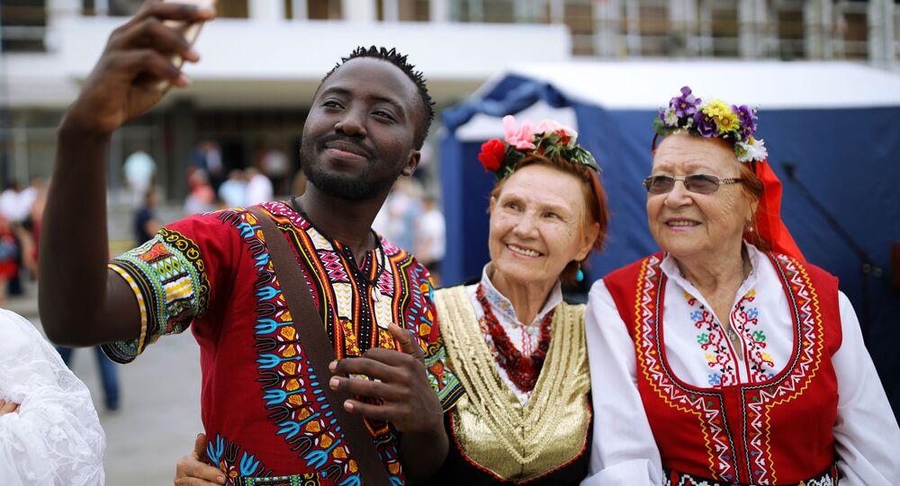 Afroamerykanin w Krasnodarze