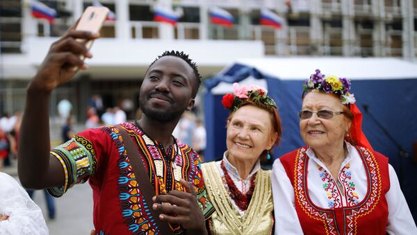 Afroamerykanin w Krasnodarze - Sputnik Polska