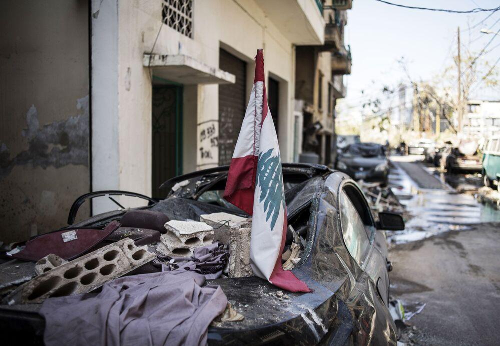 Skutki potężnej eksplozji w Bejrucie