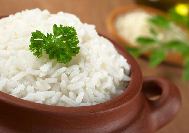 Gotowany biały ryż