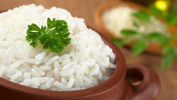 Gotowany biały ryż - Sputnik Polska