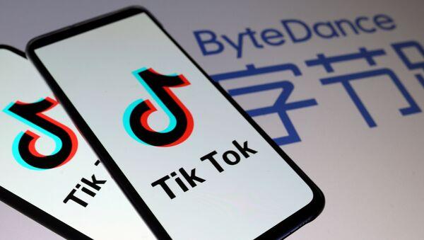 Aplikacja TikTok. - Sputnik Polska
