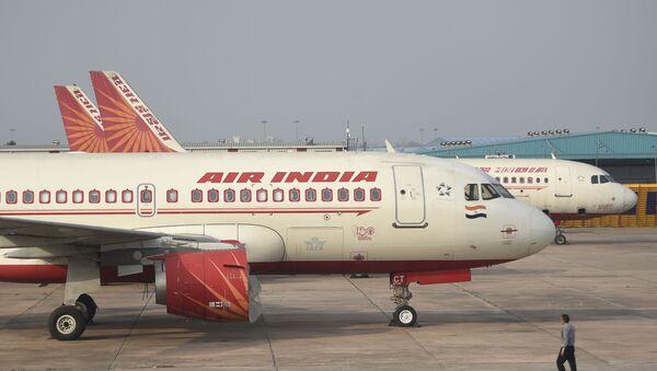 Samolot linii lotniczych Air India - Sputnik Polska