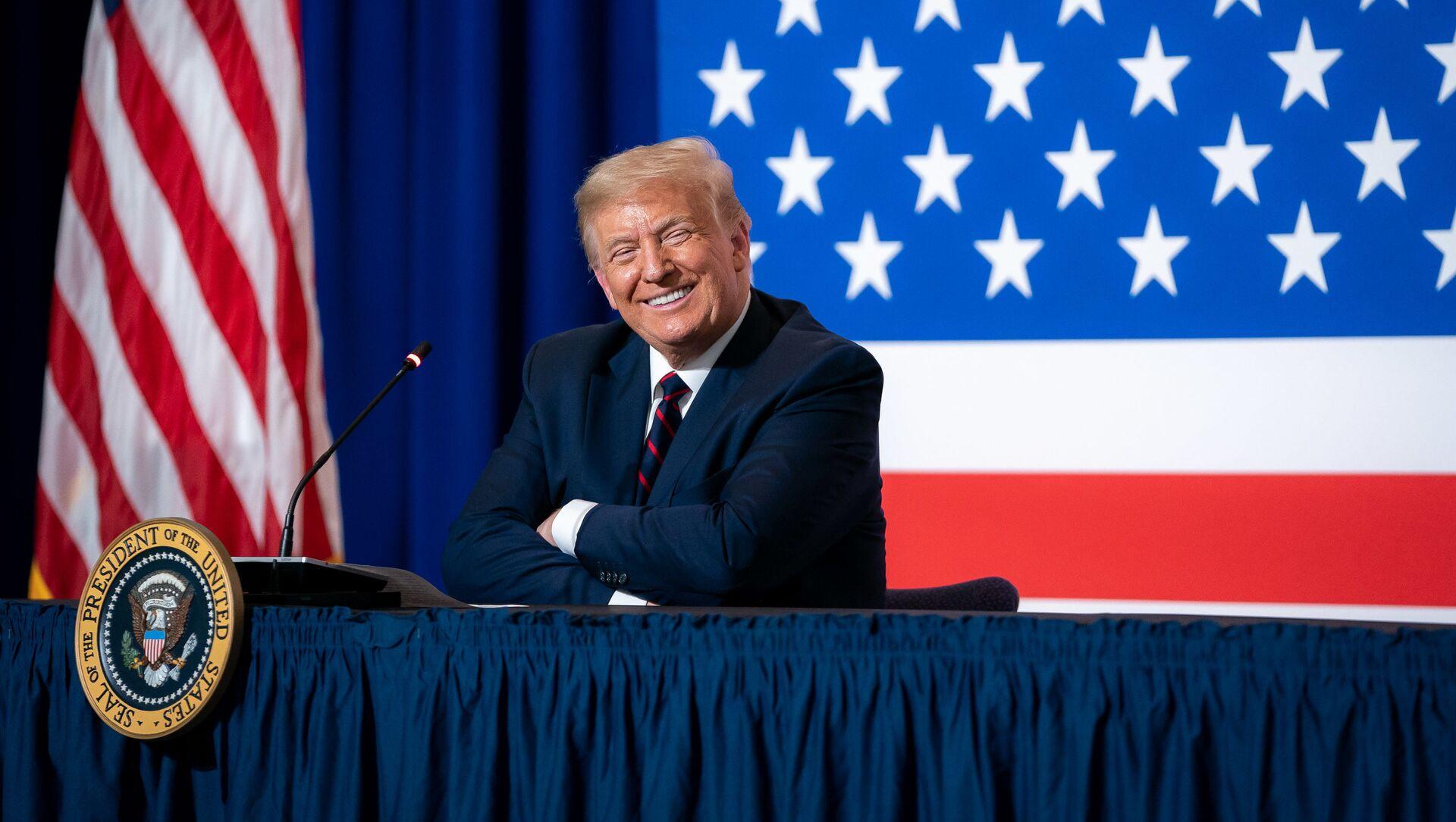 Donald Trump - Sputnik Polska, 1920, 01.02.2021