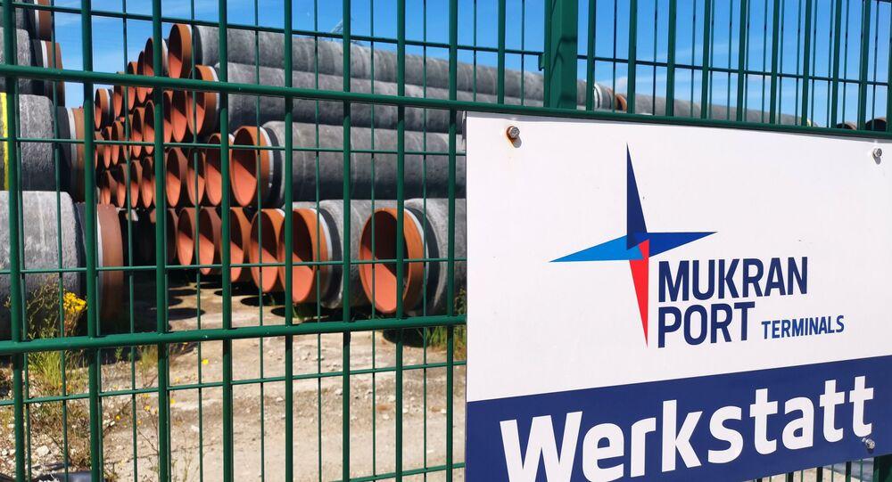 Rury do budowy Nord Stream 2, Niemcy