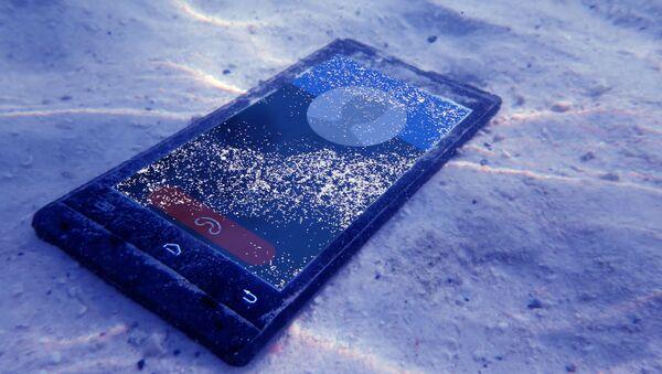 Smartfon pod wodą - Sputnik Polska
