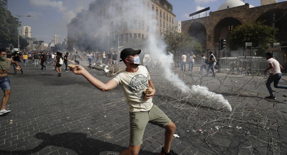 Bejrut, protesty