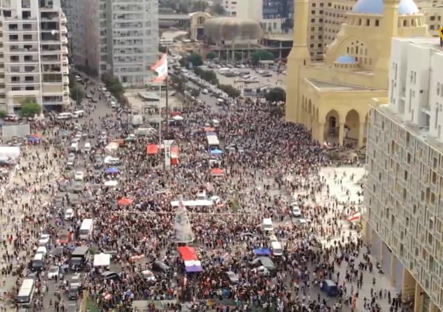 Protesty w Bejrucie