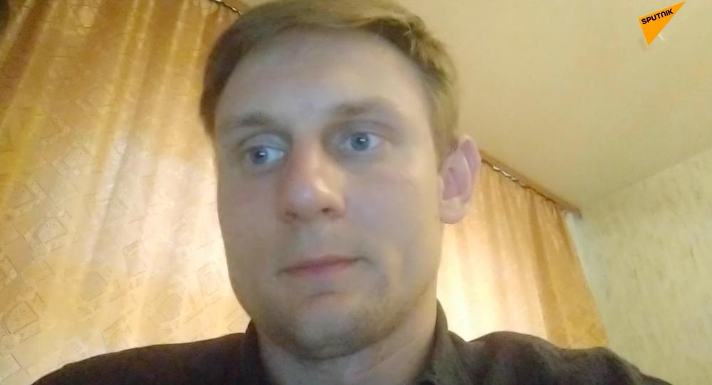 Korespondent Sputnik Białoruś Jewgienij Olejnik