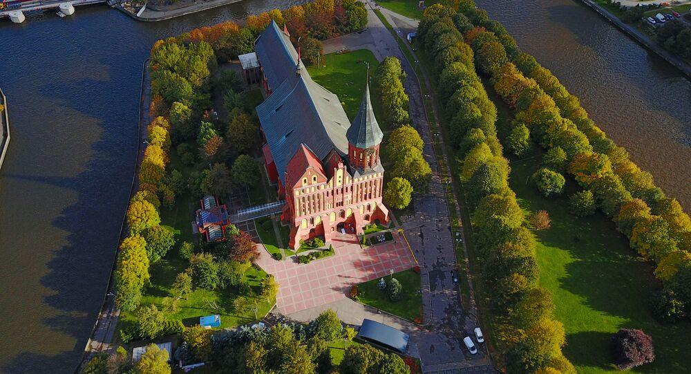 Kaliningrad z lotu ptaka