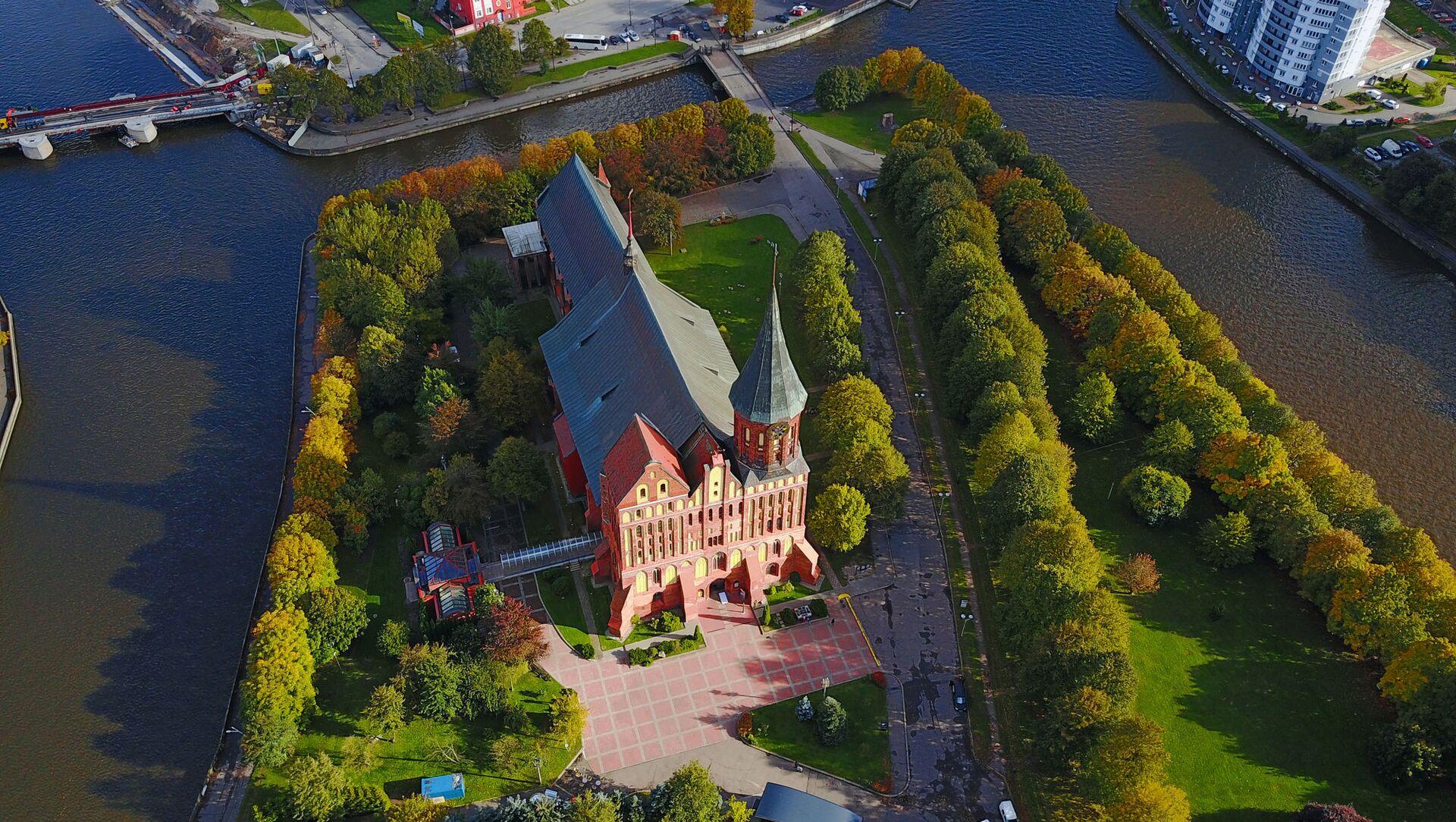 Kaliningrad z lotu ptaka - Sputnik Polska, 1920, 07.03.2021