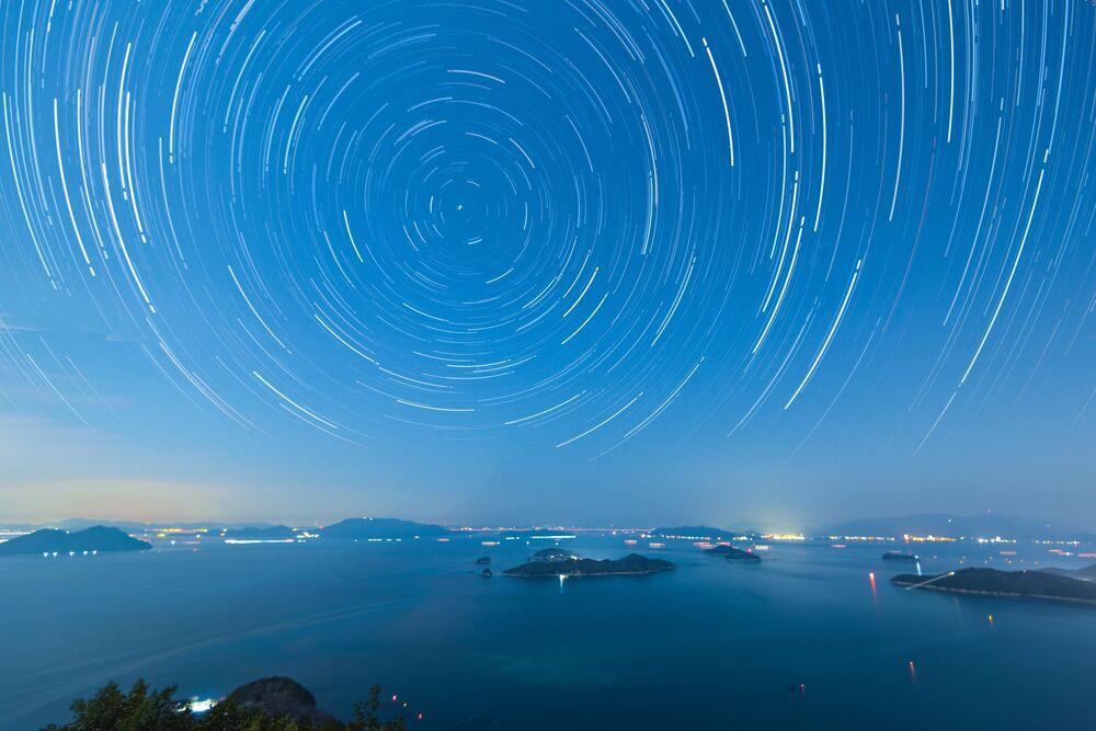 Gwiaździste niebo w Japonii