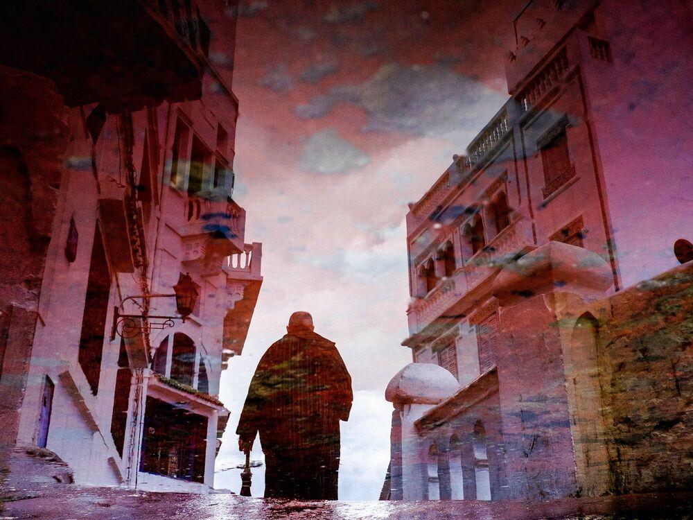 Miasto Tangier w Maroku
